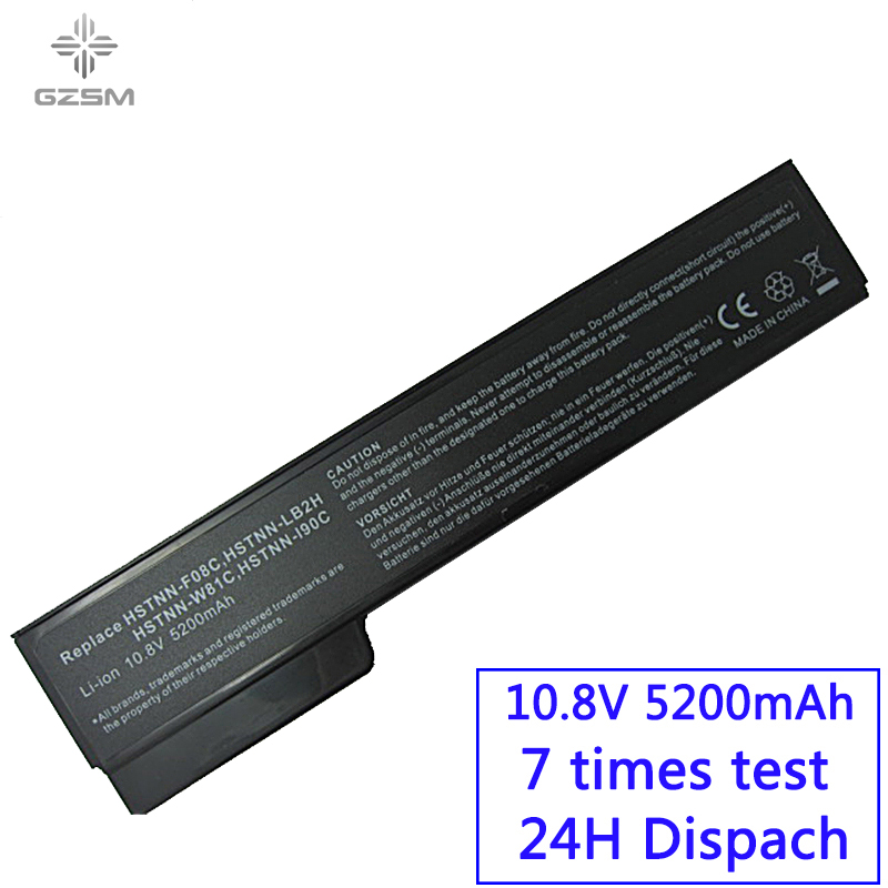 GZSM Laptop <font><b>Battery</b></font> 8460P for HP 8470P 8560P 8460W 8470W <font><b>8570P</b></font> 6460B 6470B 6560B 6570B 6360B 6465B 6475B 6565B <font><b>battery</b></font> image