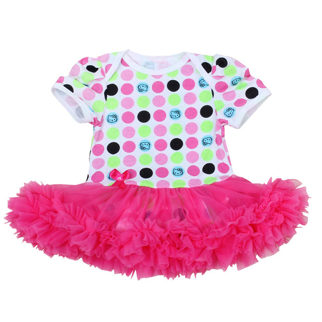 a21f6472f Baby Girl Tutu Romper Dress 0 12 Months Cute Newborn Baby Ruffle ...