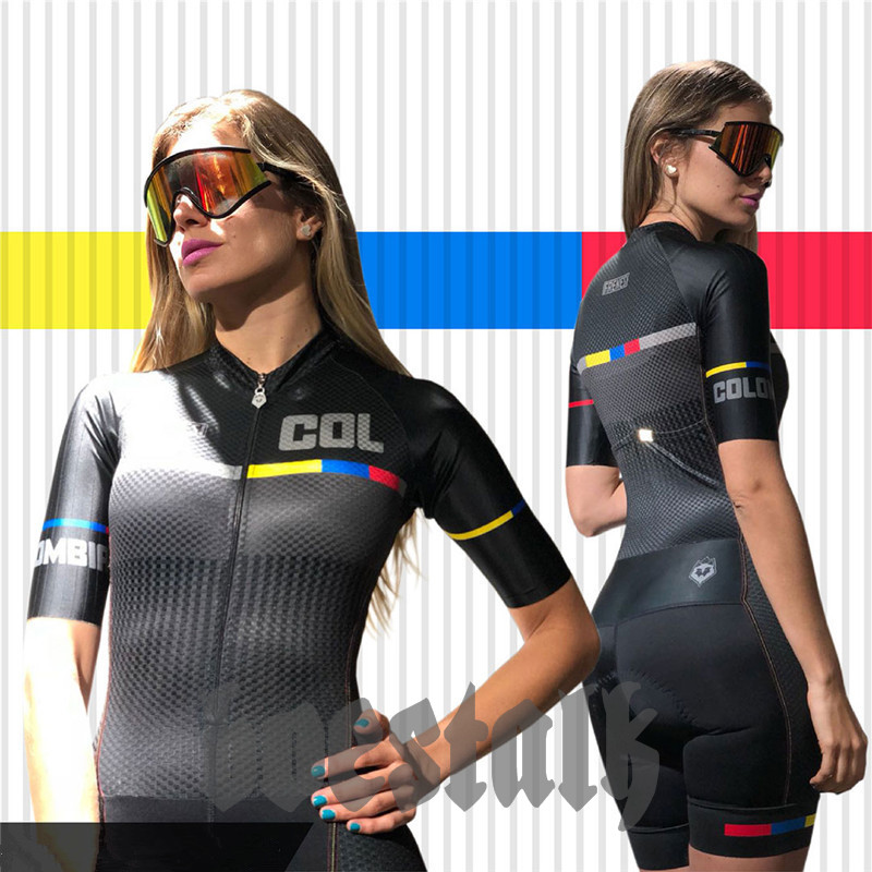 2019 Frenesi women skinsuit pro cycle Maillot ciclismo triathlon clothing racing Cycling Jersey bicycle Team body