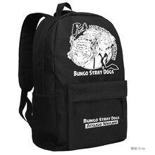 Anime Bungou Stray Dogs กระเป๋าเป้สะพายหลังนักเรียนโรงเรียนนักเรียนกระเป๋าเป้สะพายหลังสำหรับวัยรุ่นกระเป๋าเดินทางลำลอง Daypack Mochila