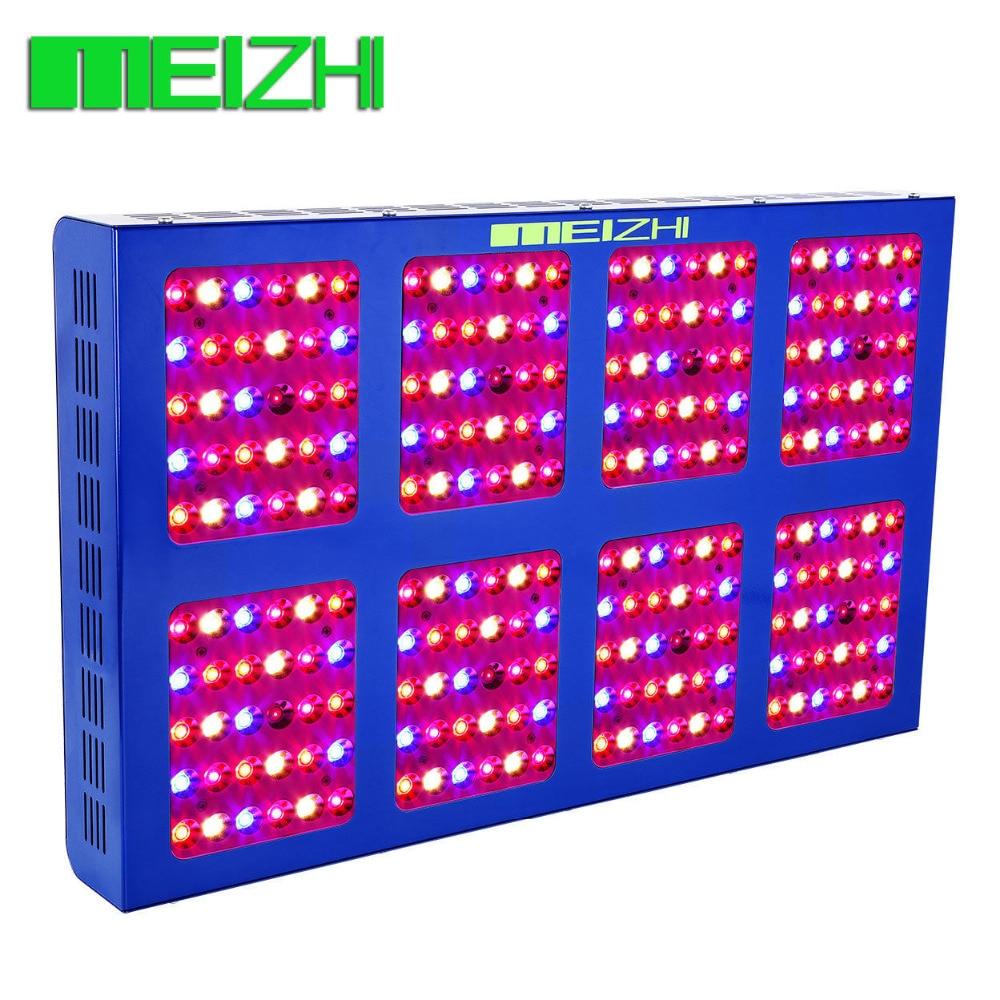 MEIZHI Riflettore LED 1200 w Coltiva La Luce interna giardino idroponico ha condotto la cob spettro completo dell'interno impianti di illuminazione