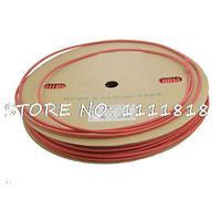 Red Polyolefin Sleeving Heat Shrink Tubes 5mm x 100 Meters