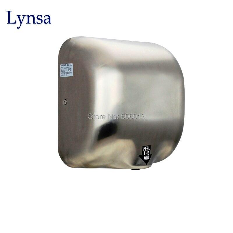 ФОТО Bathroom xcelerator hand dryer hygiene high speed stainless steel electric auto hand dryer for school hospital hotel