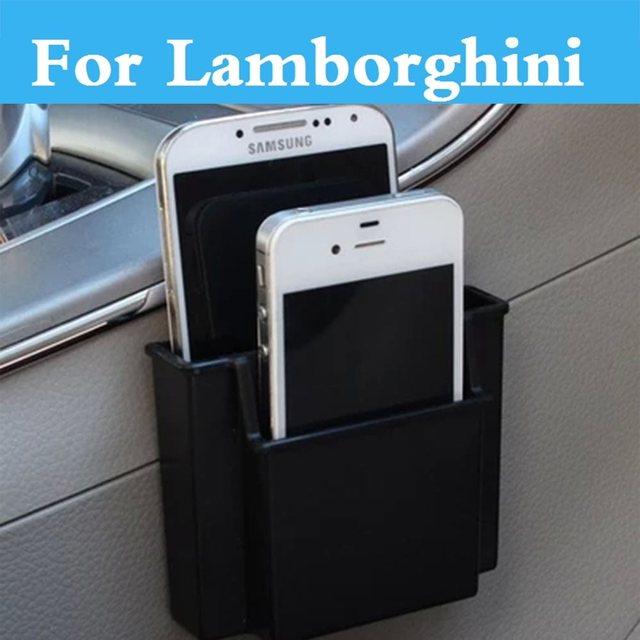 Car Cell Phone Holder Storage Box Holder Orangizer For Lamborghini  Murcielago Reventon Sesto Elemento Veneno Aventador