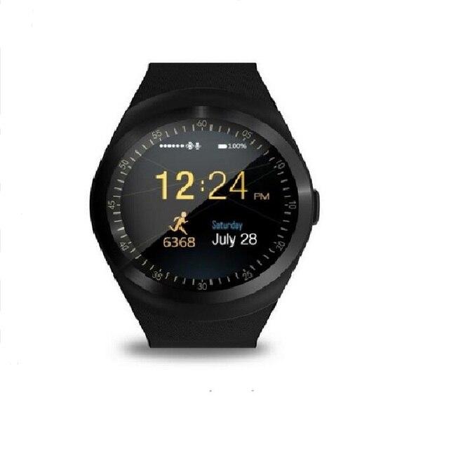 מפעל 2G Smartwatch 1.22 אינץ מלא עגול תצוגת sim יחיד nano sim Bluetooth SM01 חכם שעון ללא מצלמה