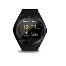 Fabriek 2G Smartwatch 1.22 inch volledige ronde display sim single nano sim Bluetooth SM01 Smart Horloge zonder camera