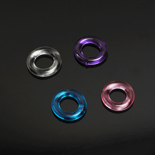 5 Different Styles Soft Silicone Multi-Colors Cock Ring