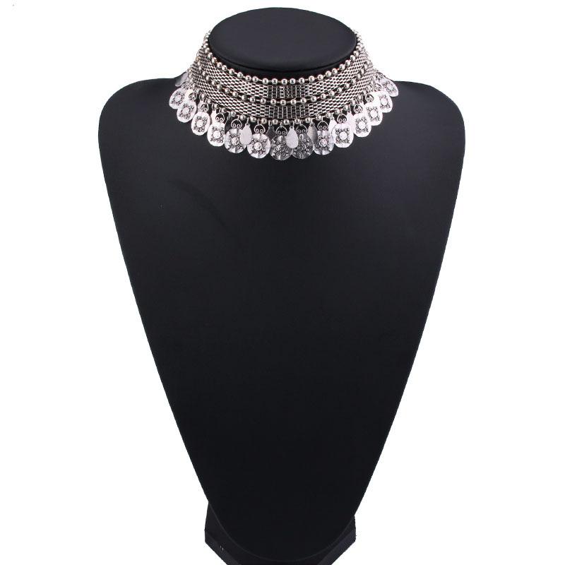 Винтажное ожерелье hysecmao с монетами в стиле бохо для женщин