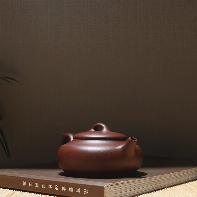 230 ml fábrica directa China Kung Fu Zisha tetera de arcilla púrpura genuino Yixing Paquete de caja de regalo envío gratis - 4