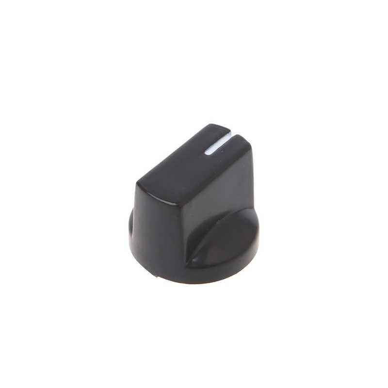 1 PC Tombol Tombol Amplifier Gitar Efek Pedal Knob Plastik Datar Pointer Aksesoris