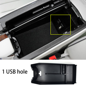 Image 5 - Accessories for Mercedes Benz E Class 2010 2015 W212 Console Central Armrest Storage Box Container Tray Organizer Car Styling