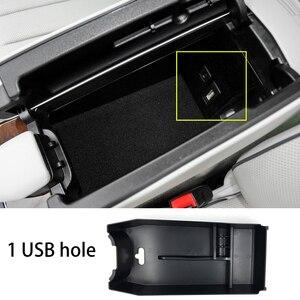 Image 5 - אביזרי עבור מרצדס בנץ E Class 2010 2015 W212 מגש ארגונית מיכל תיבת אחסון משענת יד המרכזית קונסולת רכב סטיילינג