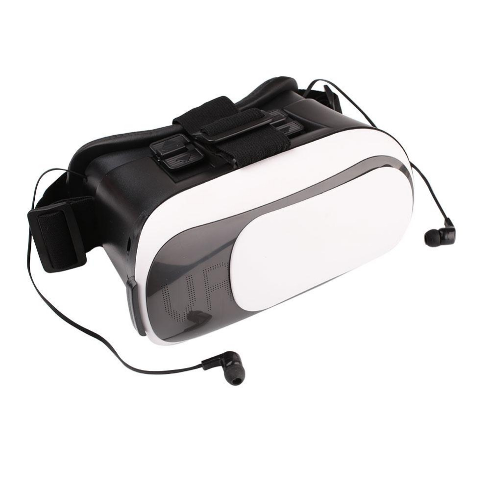 """<font><b>Universal</b></font> 3D <font><b>Virtual</b></font> <font><b>Reality</b></font> Cardboard <font><b>VR</b></font> <font><b>Box</b></font> <font><b>Headset</b></font> <font><b>Glasses</b></font> w/ Bluetooth Earphonefor 3.5-6"""" Mobile Smart Phone"""