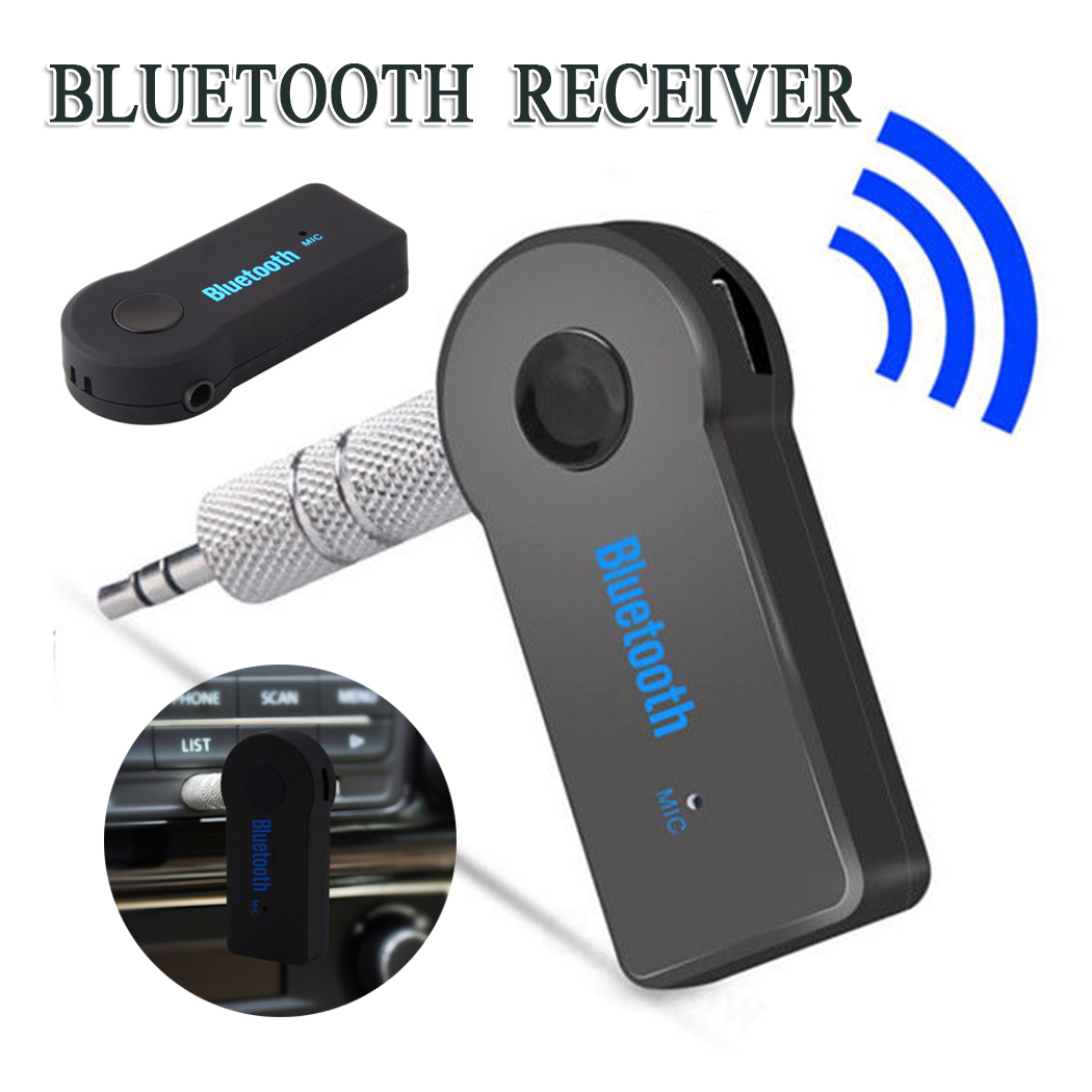 X3Roreta AUX 3.5mm Jack Bluetooth Receiver Car Wireless Adapter Handsfree Call Bluetooth Adapter Transmitter Auto Music Receiver|Phone Adapters & Converters| |  - title=