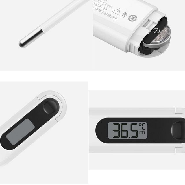 Xiaomi Miaomiaoce LCD Digital Medical Thermometer Baby Children Adult Mouth Underarm Temperature Clinical Detecting With Battery 4
