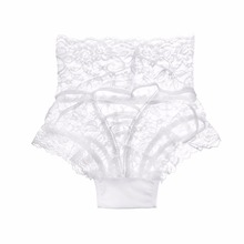 Sexy Lace Underwear Women Fashion High-Rise Ladies Thongs and G Strings Straps Hollow G-String Panties Imitation Lingerie