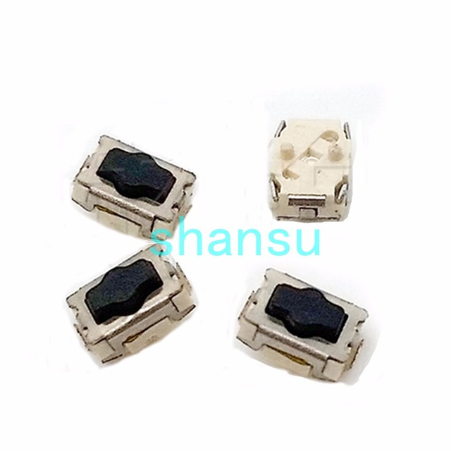 Wonderful 3*4*2mm Package The Feet Plum Blossom Little Turtle Light Touch Switch  3x4x2mm