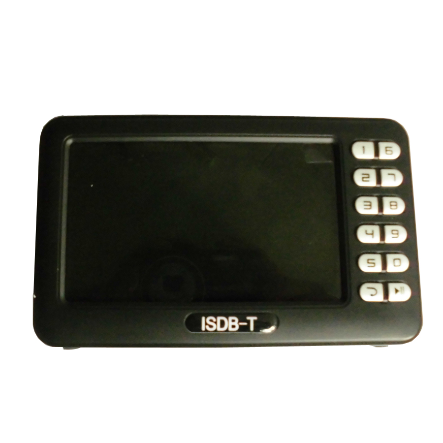 Digital ISDB T Mini Handheld TV with 4.3 inch LCD Screen (2)