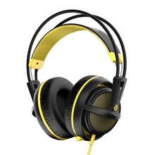 [Original] Steelseries Siberia 200 V2 Headset Headphones With Microphone Helmet Headset For PC Gamer Gaming Gold Color Hot Sale
