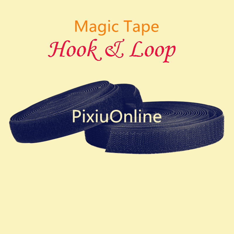 1PCS/LOT  YT509B Magic Tape   Wide 20 mm   Long Hook   Hook  Loop    Cable Tie   Nylon Fastening  5 Meters   Without Glue