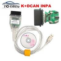 INPA Kompatibel K + DCAN Ediabas Für BMW Serie Auto Grün PCB Mit FTDI FT232RL OBD2 Code Reader Diagnose Adapter für BMW INPA