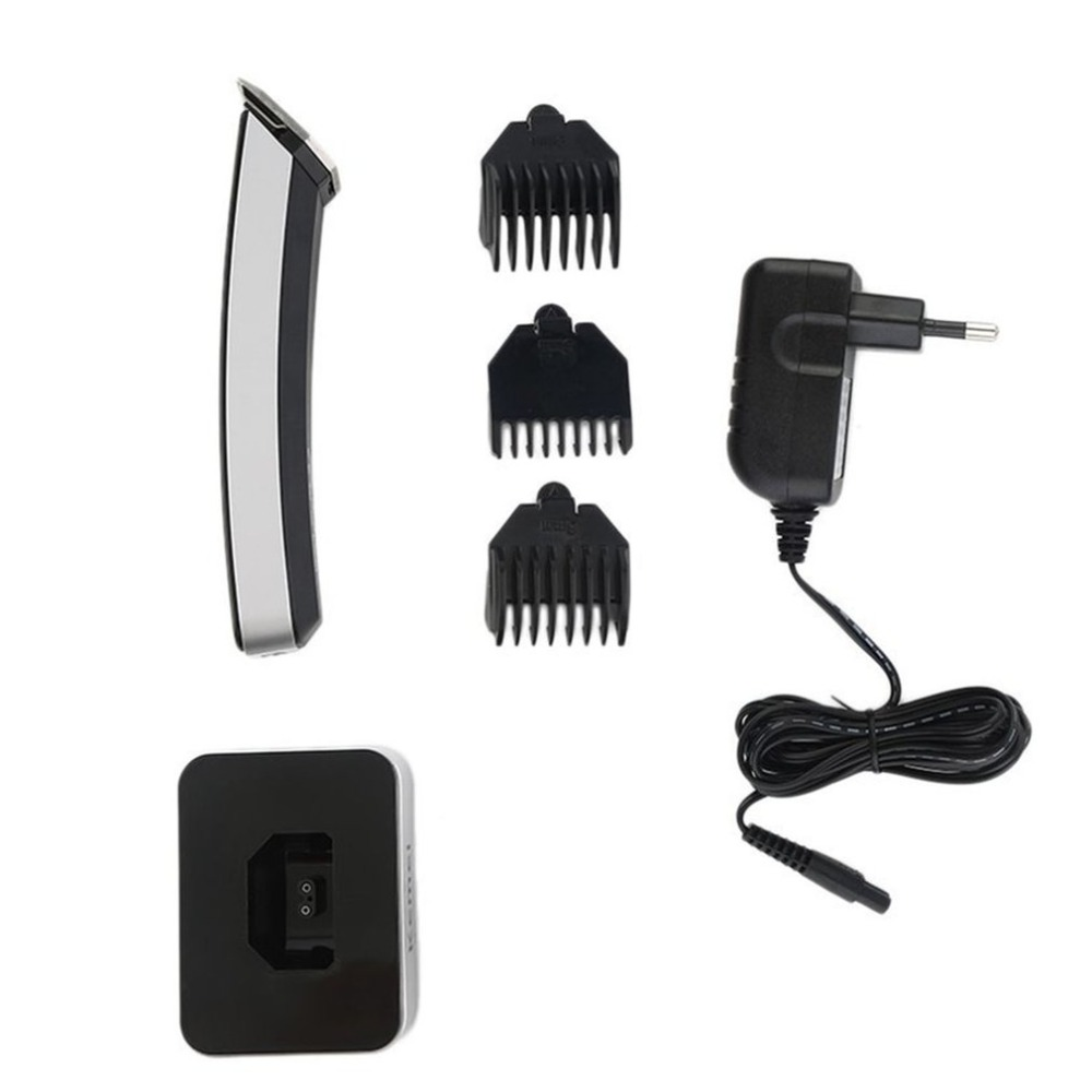 Waterproof Trimmer Grooming Electric Shaver Razor Beard Hair Clipper Comb Cutting Length Control Wheel EU Plug