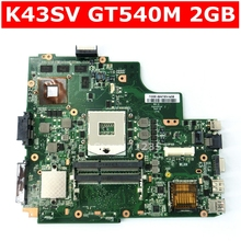 K43SV GT540M 2 Гб HM65 материнская плата версия 4,1 для Asus A43S X43S K43S K43SV K43SJ K43SM материнская плата для ноутбука USB 3,0 100% тестирование