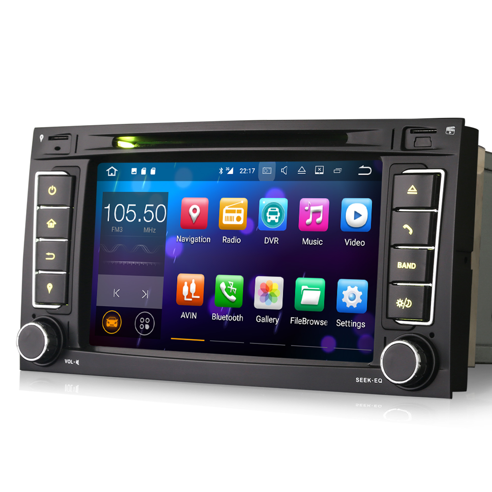 Android 7.1 Car GPS Navigation For VW Touareg T5 Multivan