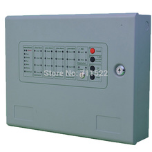 Free shipping 8 zone Fire Alarm Control Panel  Non- addressable  Fire Control Panel  fire alarm system