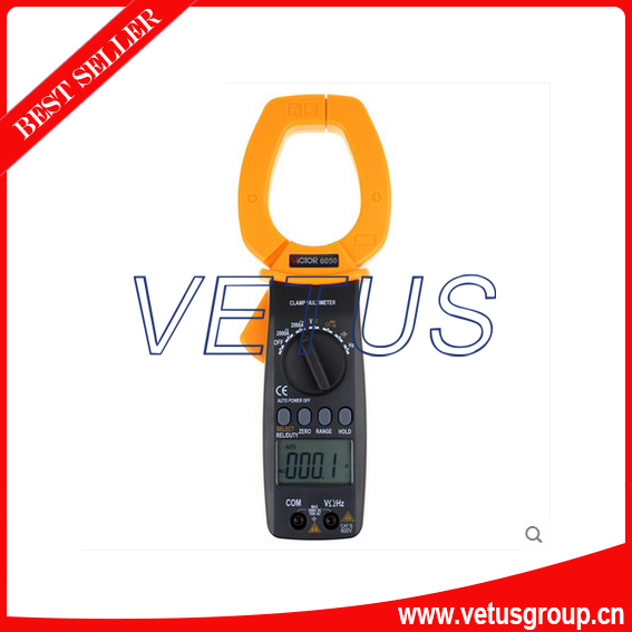 VICTOR 6050 ac dc digital clamp meter price ...