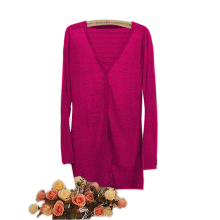 College Style Spring Candy Color Long Sleeve Cardigan