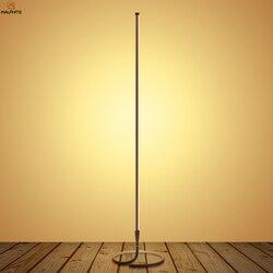 Nordic pilot Lampa LED podłogowa lampy stojące do salonu sypialni proste oświetlenie stojak światła domu lampa dekoracyjna stojak Lampy podłogowe    -
