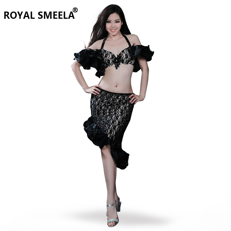 Hot Sale Free shipping New top grade high quality belly dance set costume belly dancing clothes