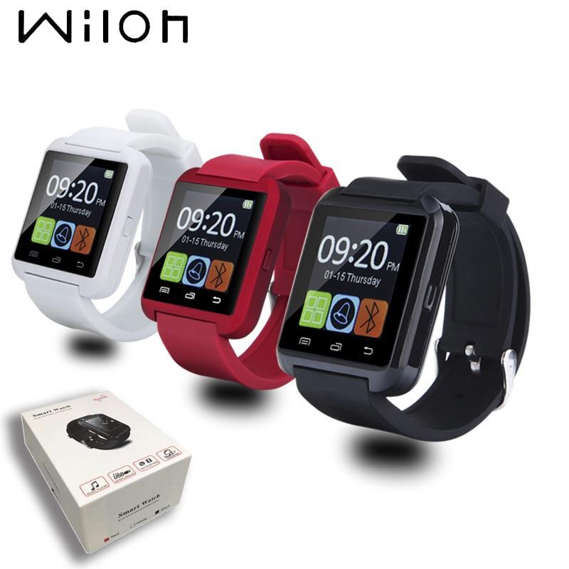 Original Bluetooth Smartwatch Relógio de Pulso U8 U Relógio Para iPhone iOS e Android Telefones Bom como GT08 com Altímetro