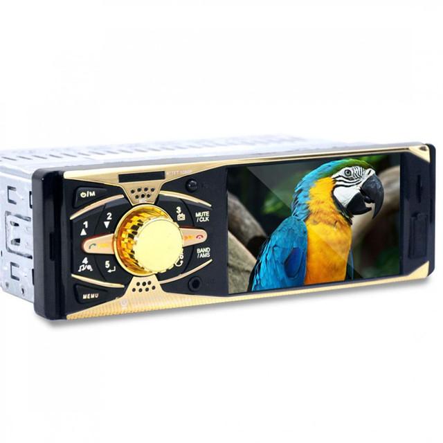 Nova marca de 4.1 Polegada TFT HD Veículo Digital FM Estéreo rádios MP3 MP4 MP5 Players de Mídia de Áudio com USB/SD MMC porta