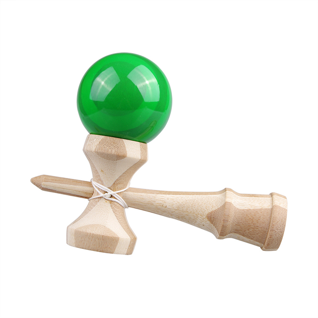 High quality safety bamboo kendama toys best wooden toys for kids