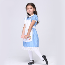 Direct Selling Girls Alice In Wonderland Movie Role Play Disguise Cosplay Party Performance Halloween Fancy Dress
