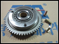 Motorcycle Overrunning clutch LF200 ZS200 CG200 Starter Clutch Assembly scooter parts 57 teeth