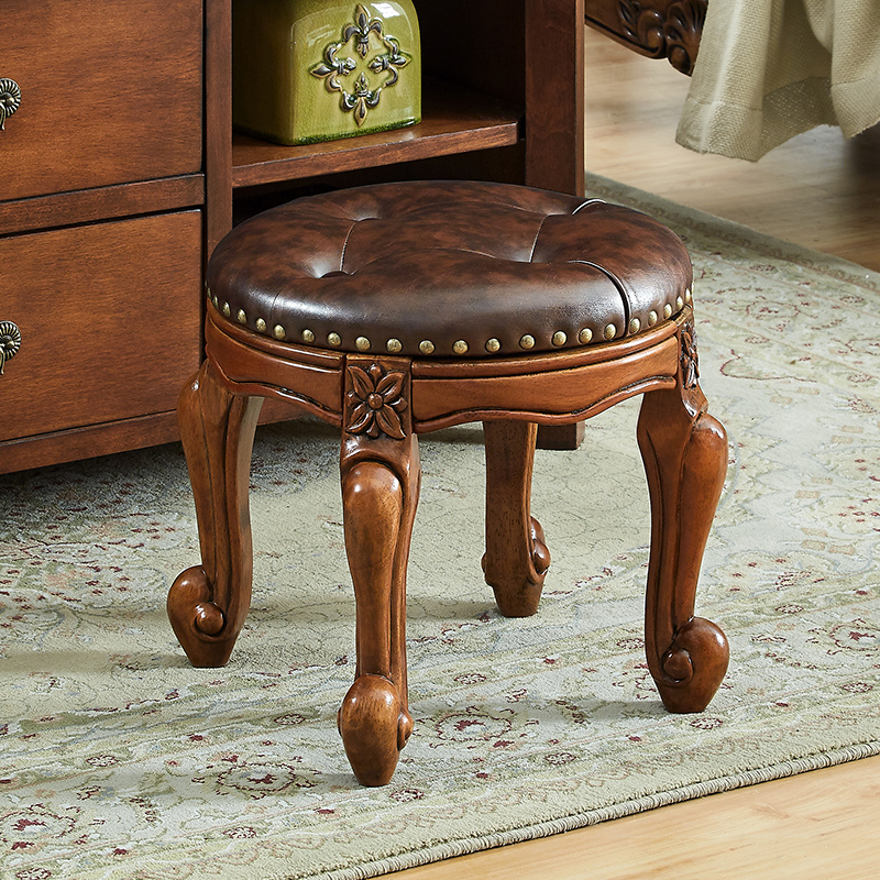 Awe Inspiring Us 114 74 17 Off High Grade Creative Sofa Foot Stool Living Room Home Solid Wood Stool Dressing Table Stool American Style Shoe Bench In Stools Ocoug Best Dining Table And Chair Ideas Images Ocougorg