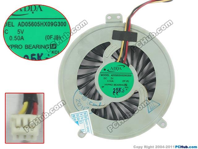все цены на ADDA AD05605HX09G300, (0FJ8) DC 5V 0.50A   Server Round fan