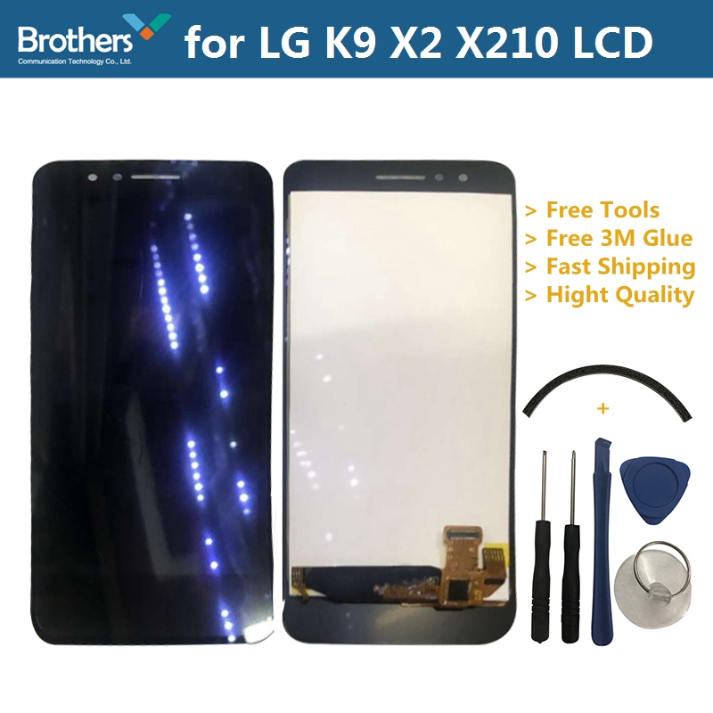 LCD Screen for LG K9 X2 X210 LCD Display for LG K9 X2 X210 Touch Screen Digitizer LCD Assembly Black With Frame Phone Repiar LCD Screen for LG K9 X2 X210 LCD Display for LG K9 X2 X210 Touch Screen Digitizer LCD Assembly Black With Frame Phone Repiar