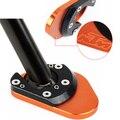 Estande Kickstand lado Placa de Extensão Para KTM 990 Aventura R SM-R S 06-11 KTM 950 SM Super Enduro LC8 Aventura/KTM LC8 690