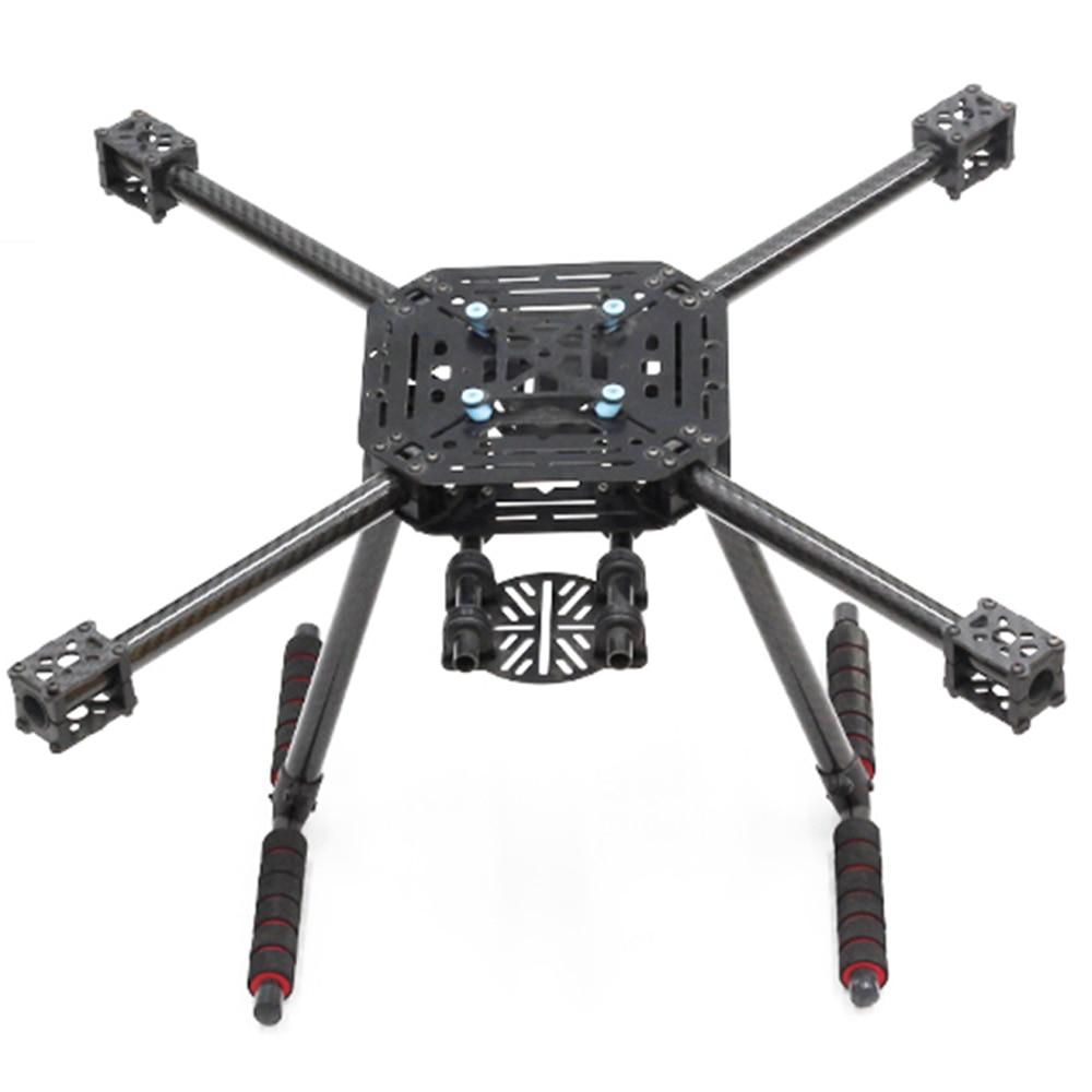 X4 500 500mm Glass Fiber / Carbon fiber Center plate Quadcopter Frame kit Carbon Fiber Landing Gear upgrade S500 Fit 1147 Props