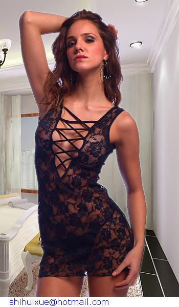 4b304c4bc26 SKO Really sexy Stipper Cloth Womens Hottest Images Really sexy Dress Lace  Sleepwear Cheap price -in Dresses from Women's Clothing on Aliexpress.com  ...