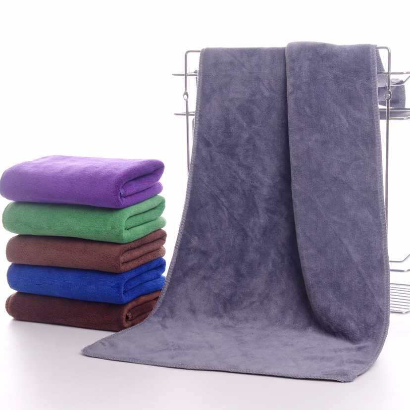 2018 New Thicken 35*75cm High absorbent microfibre dry hair beauty salon towels toalla c ...