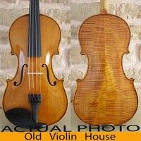 Antique varnish,Antonio Stradivari 1715 Cremonses Violin Model with Lable, Free violin case ,No.4820,hand made bow and rosin,
