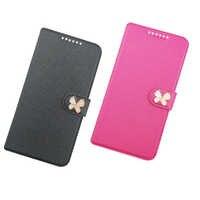 Flip de lujo de cuero de la PU + cartera, caso de la cubierta para Senseit T250 T300 A109 A200 E510 E400 E500 caso protector del teléfono caso