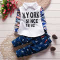 2016 New Spring Baby Boys Clothes Gentleman Suit Toddler Boys Clothing Set Baby Infant Clothing Causal  Outfits Kids Clothes