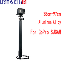 LANBEIKA Big Size Lengthen Selfie Stick 360 Degree Adjustable Monopod For Gopro Hero 6 5 4 3+ SJCAM SJ4000 SJ5000 SJ6 SJ7 Eken