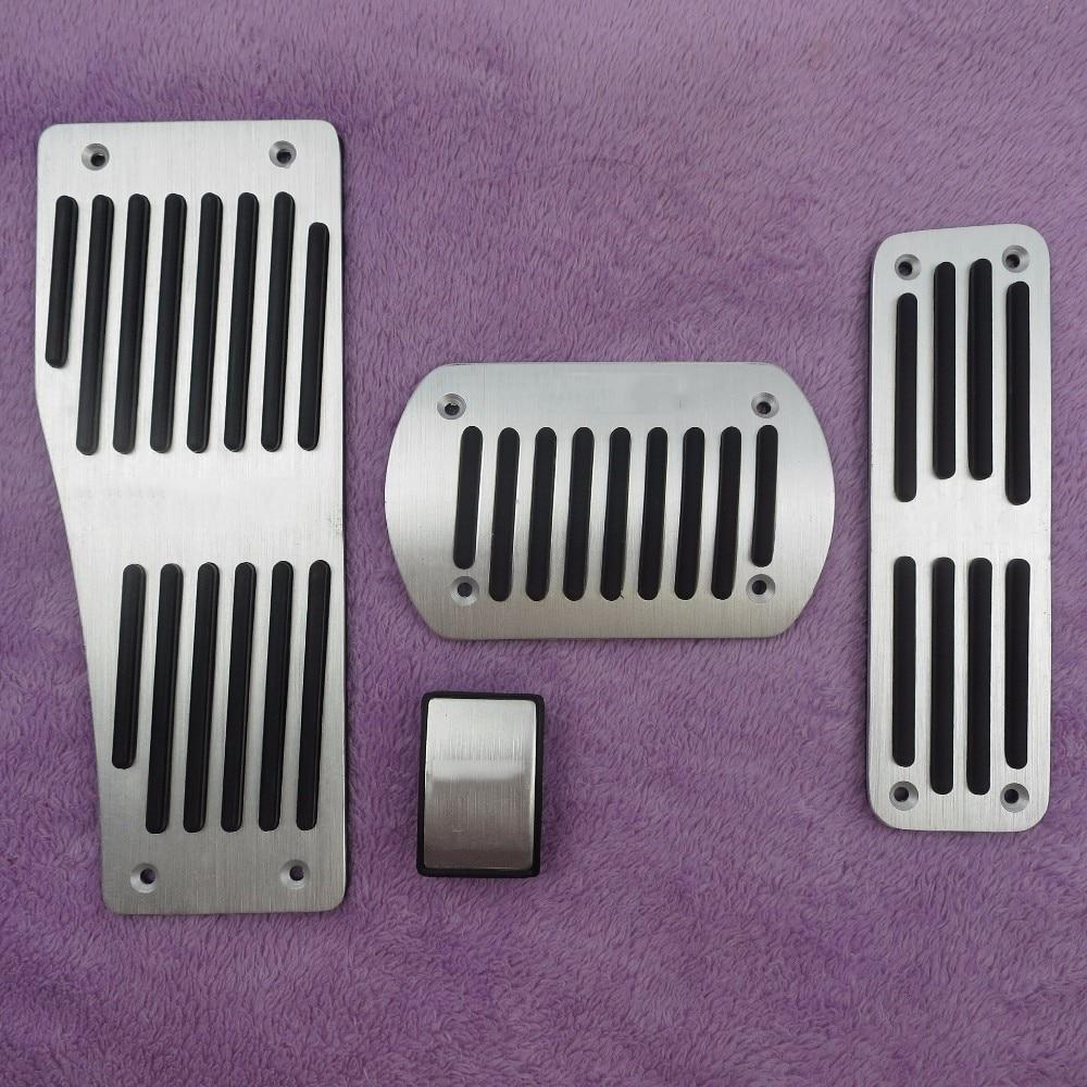 DEE Accessoires De Voiture Pour Benz W124 W202 W203 W140 W208 W210 W211 W220 R170 R171 R-Classe À En Aluminium De Frein Patin de Pédale D'embrayage couverture
